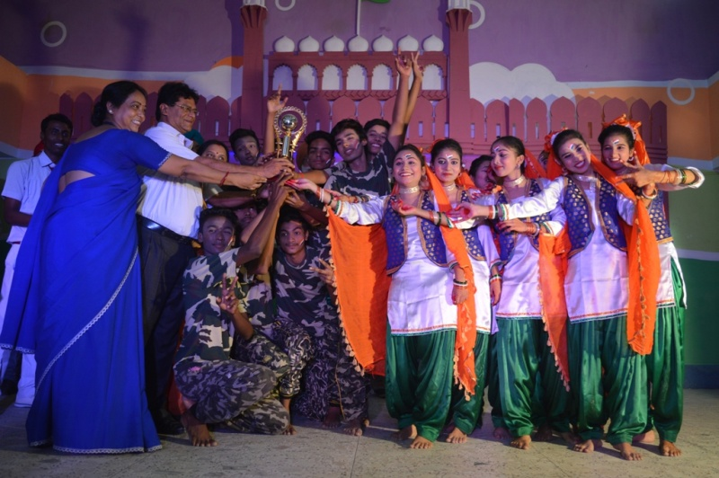 Inter GGPS Patriotic Dance Competition Runner Up