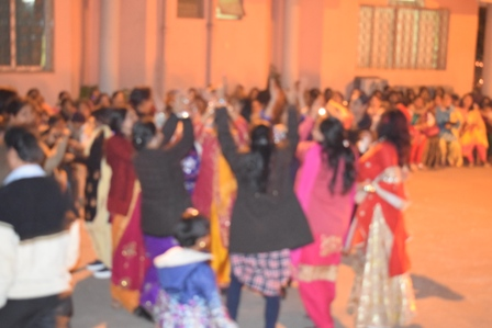 Lohri Celebrated with full enthusiasm in GGPS, Chas