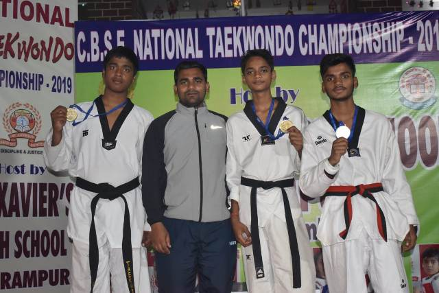 Runners Up in CBSE National Tae-Kwon-Do Championship